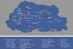 Some of the identified River Rafting and Kayaking Routes